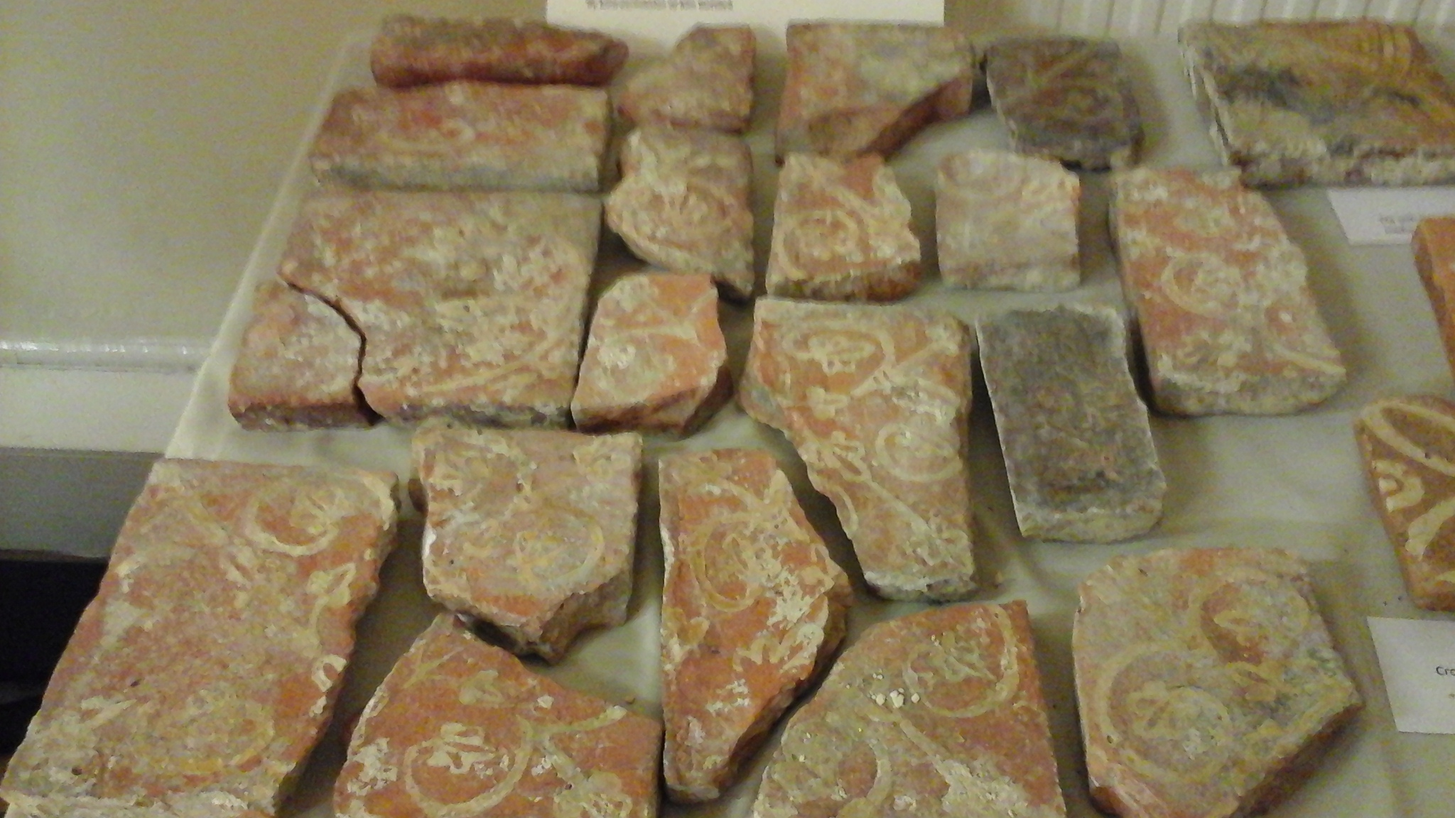 14th century tiles