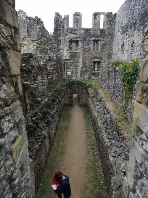 Latrine block, Rievaulx Abbey 2
